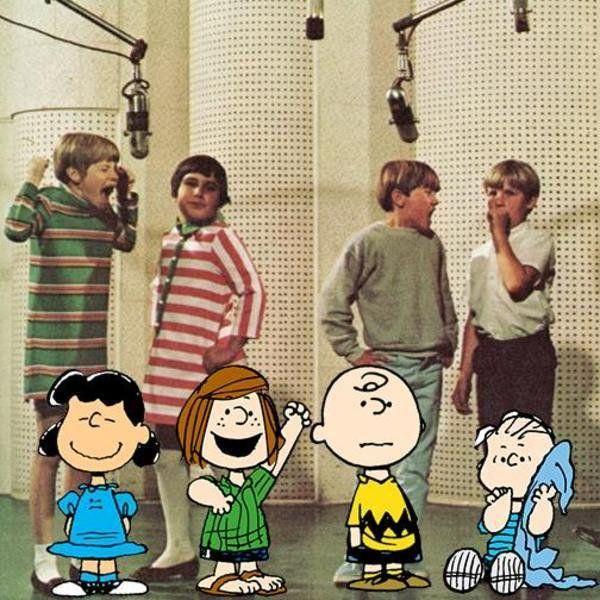 Original voice actors of the peanuts, 1960s..jpg