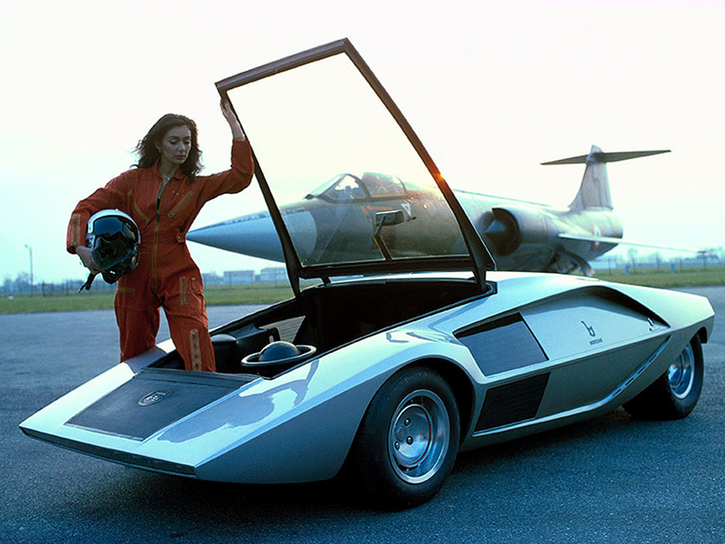 The Lancia Stratos Zero 1970, nothing but speed and violence.jpg