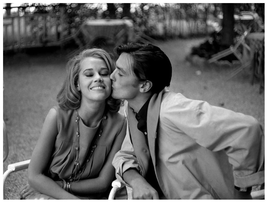 Jane Fonda and Alain Delon, 1964.jpg