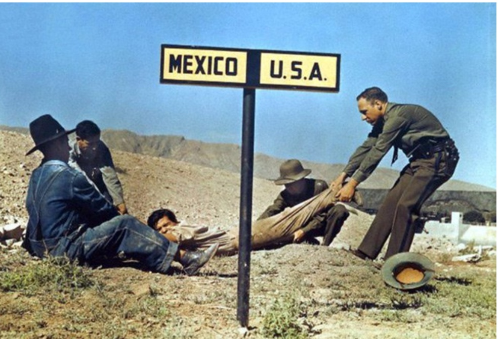 A fugitive tries to escape to the side of Mexico where the American justice cannot arrest him ... (1939).jpg