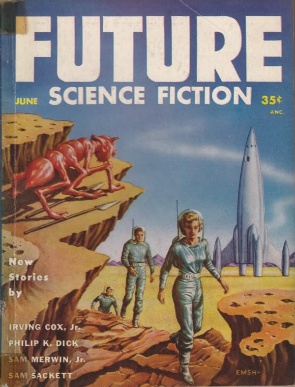 Ed Emshwiller's cover for the June 1954 issue of Future Science Fiction.jpg