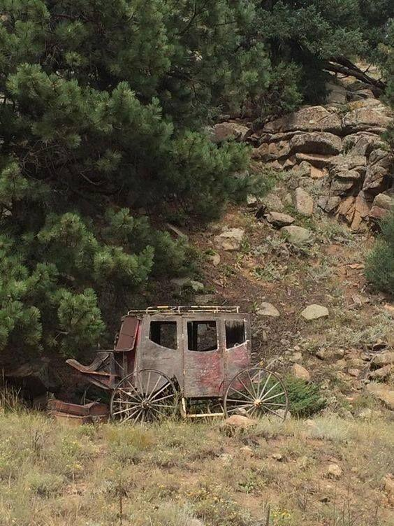 An old stagecoach found in Colorado. The story it could tell.jpg