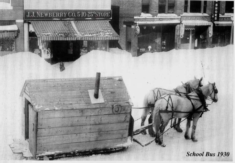 The School Bus in 1930 Northern Maine.jpg