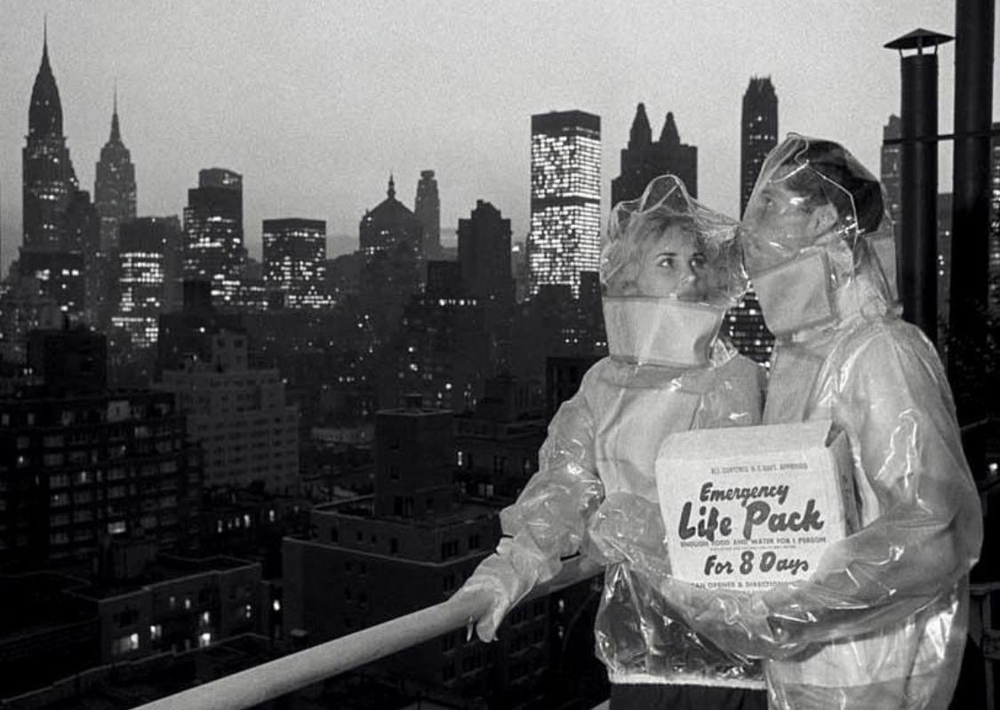 Emergency Life Pack for Nuclear Fallout, New York, 1961.jpg