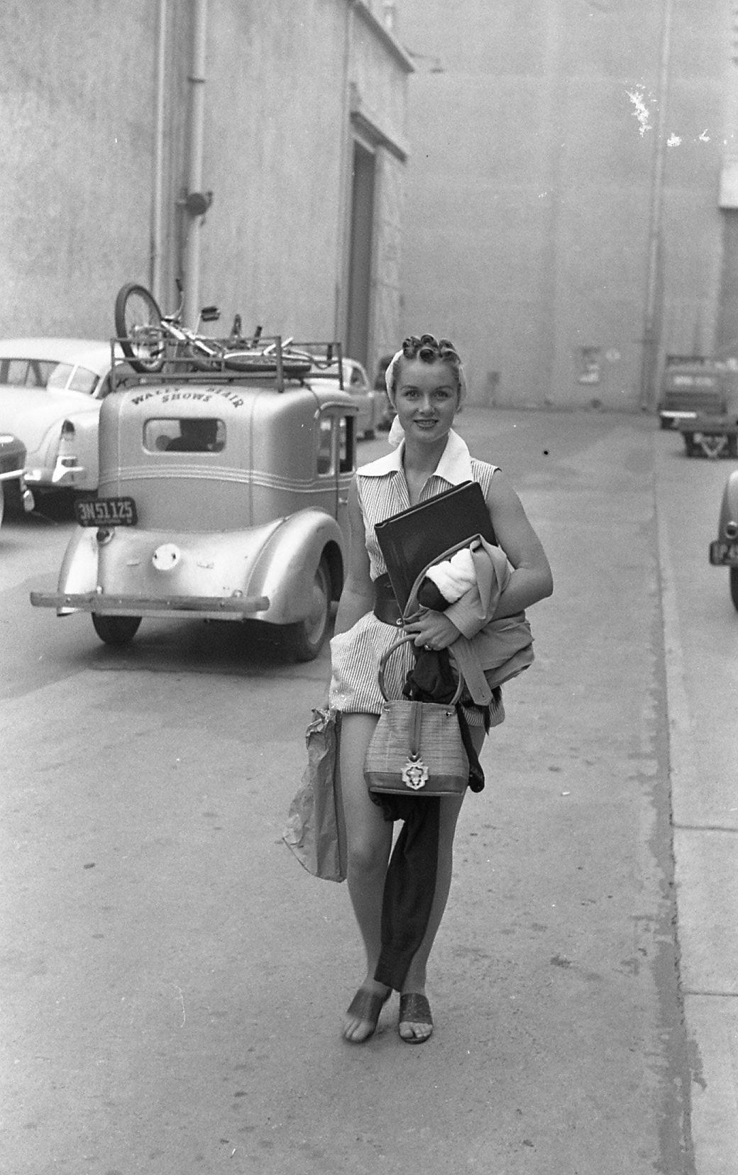 Debbie Reynolds at MGM studios, Los Angeles, 1951.jpg